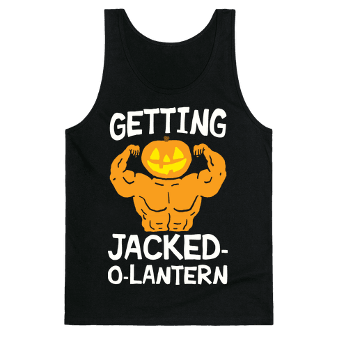 Getting Jacked-O-Lantern Tank Top