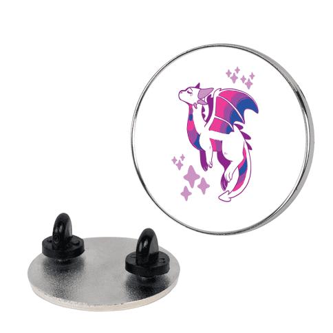 Bi Pride Dragon pin