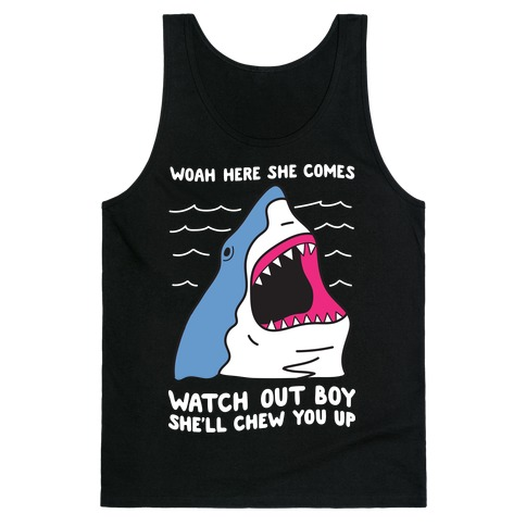Maneater Shark Tank Top