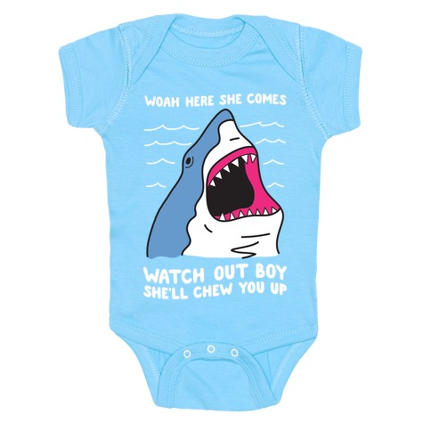Maneater Shark Baby One-Piece
