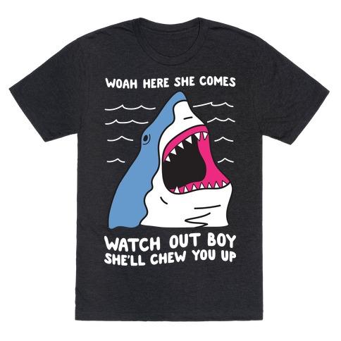 Maneater Shark T-Shirt