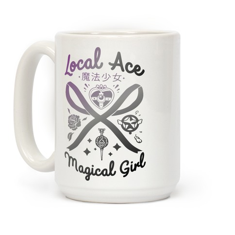 Local Ace Magical Girl Coffee Mug