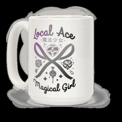 Local Ace Magical Girl Coffee Mug