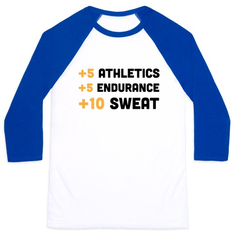 +10 Sweat Baseball Tee