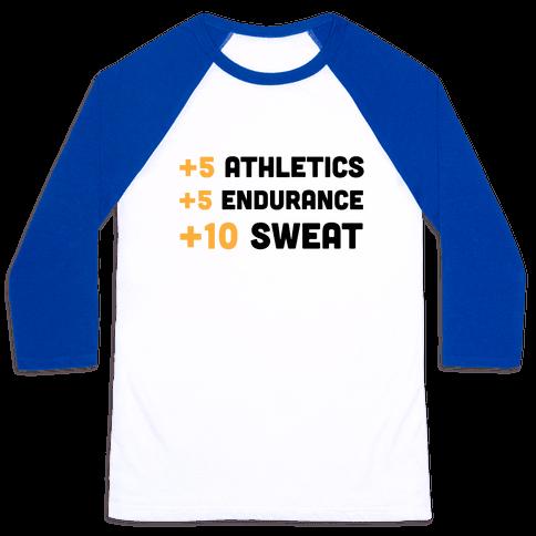 +10 Sweat Baseball Tee