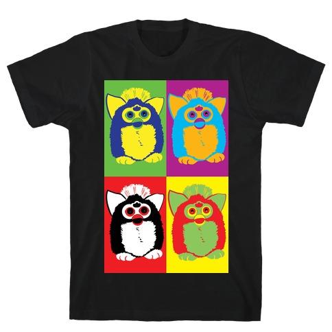 Furby Pop Art Pattern T-Shirt