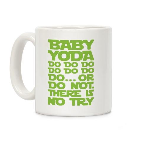 Baby Yoda Baby Shark Parody Coffee Mug