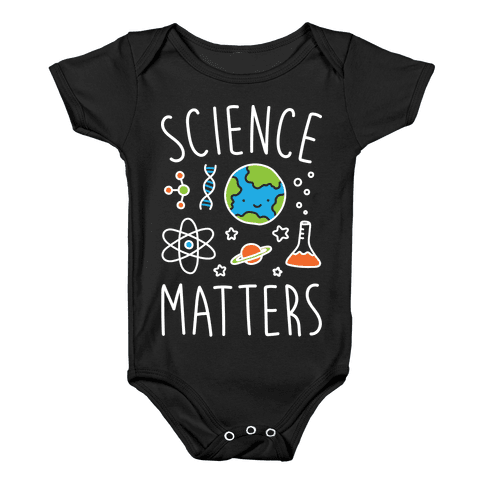 Science Matters Baby Onesy
