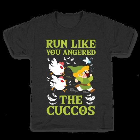 Run Like You Angered The Cuccos Kids T-Shirt
