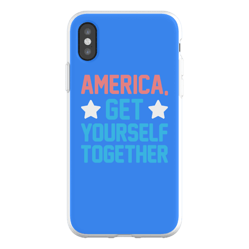 America, Get Yourself Together Phone Flexi-Case