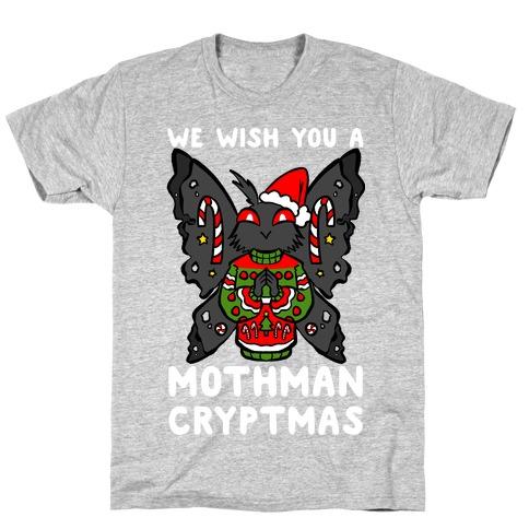 We Wish You A Mothman Cryptmas T-Shirt
