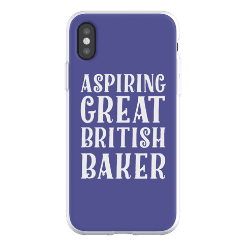 Aspiring Great British Baker Phone Flexi-Case