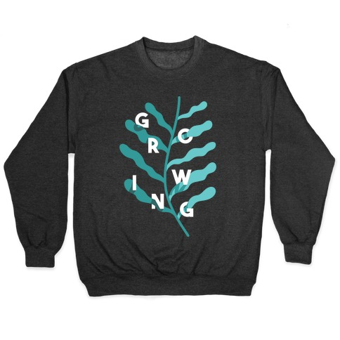 Growing Plant Frond Pullover