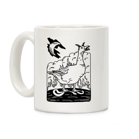 The Devil (Goose Parody) Coffee Mug
