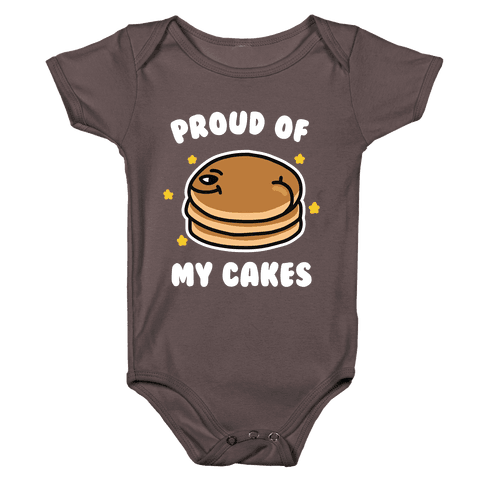 Proud of My Cakes Baby One-Piece