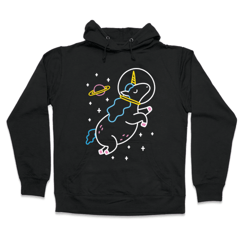 Space Unicorn Hooded Sweatshirt