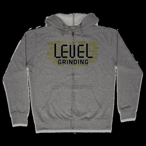 Level Grinding Zip Hoodie