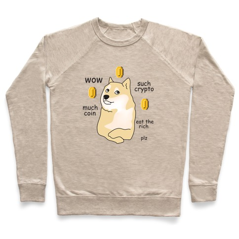 DogeCoin Parody Pullover