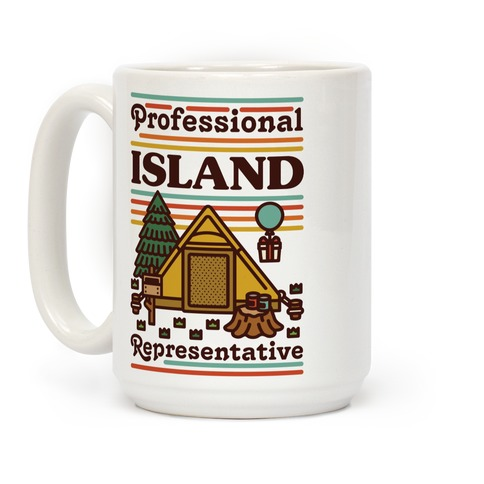 Professional Island Represenative Coffee Mug