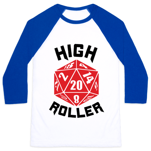 High Roller Baseball Tee