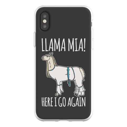 Llama Mia Parody Phone Flexi-Case