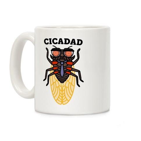 CicaDad Dad Cicada Coffee Mug