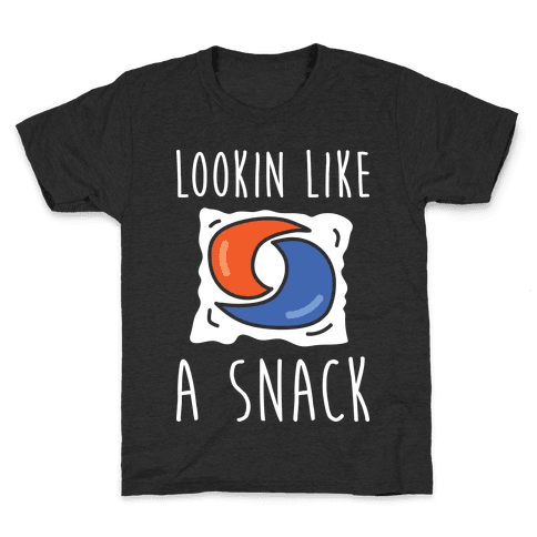 Lookin Like A Snack Tide Pod Kids T-Shirt