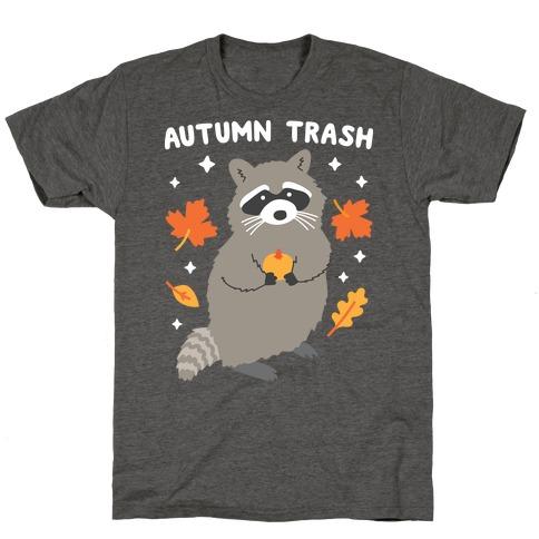 Autumn Trash Raccoon T-Shirt