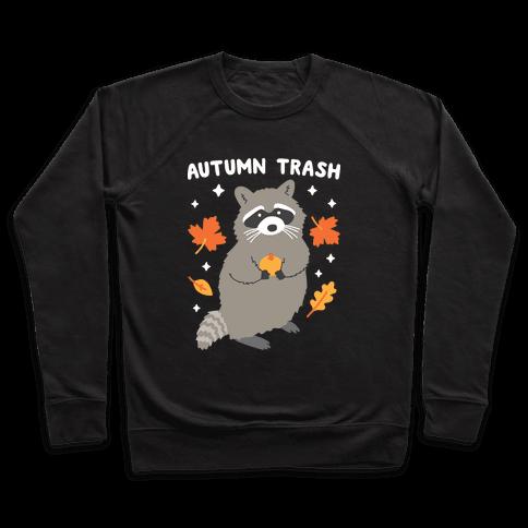 Autumn Trash Raccoon Pullover