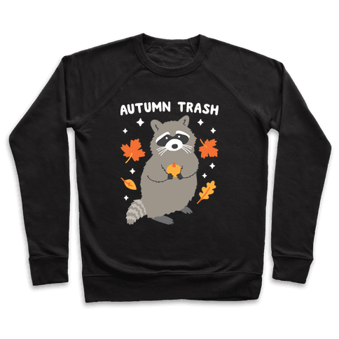 Autumn Trash Raccoon Pullover