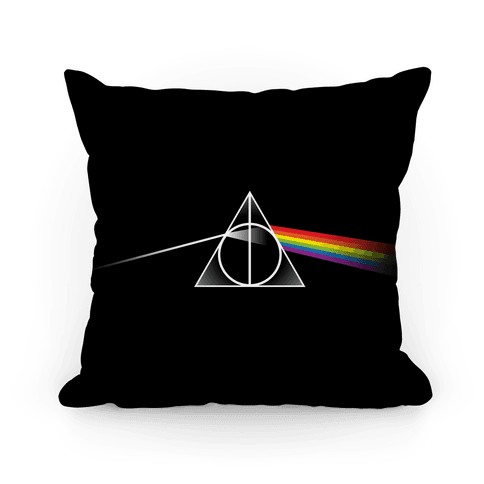 Dark Side Of The Hallows Pillow