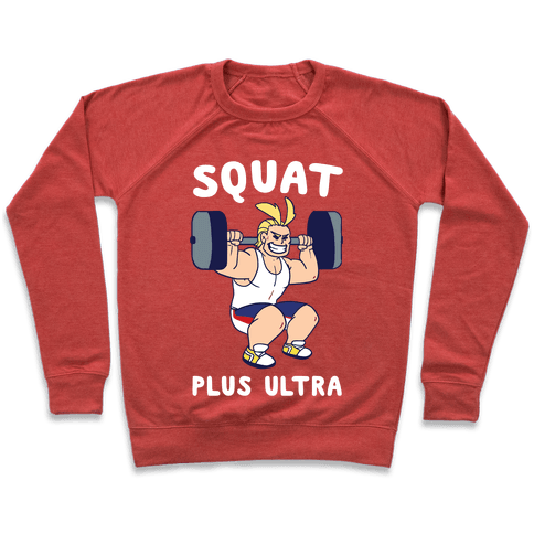 Squat Plus Ultra - All Might Pullover