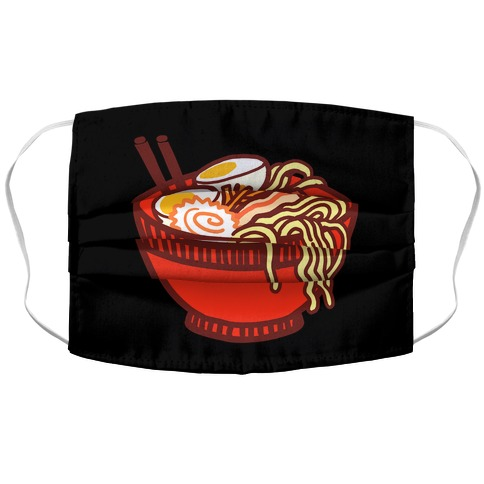 Ramen Bowl Accordion Face Mask