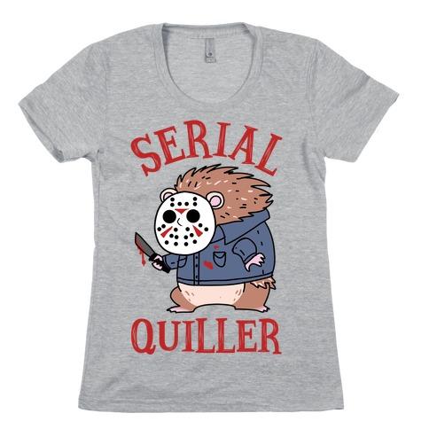 Serial Quiller Womens T-Shirt