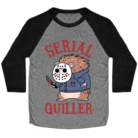 Serial Quiller Baseball Tee