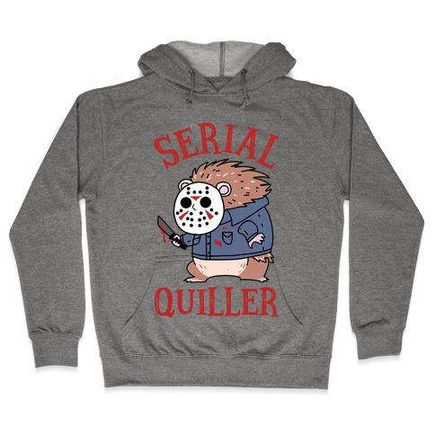 Serial Quiller Hooded Sweatshirt