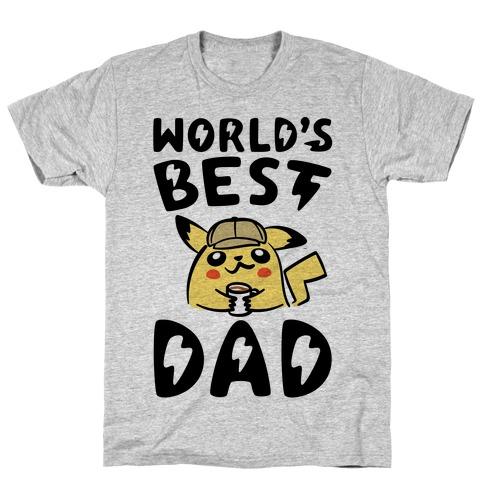 World's Best Dad Parody T-Shirt