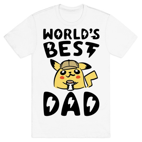 World's Best Dad Parody T-Shirt