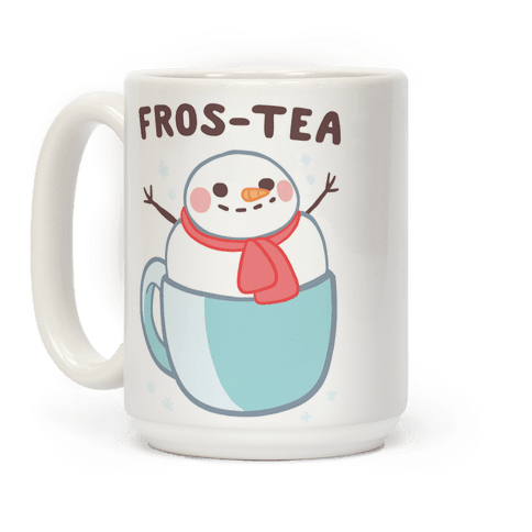 Frosty Fros-tea Coffee Mug