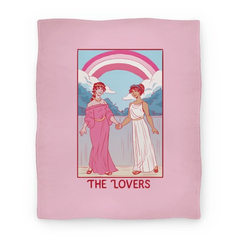 The Lovers - Sappho Blanket