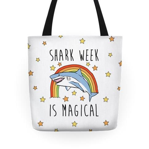 Shark Week Is Magical Parody Tote