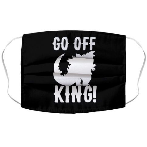 Go Off King Accordion Face Mask