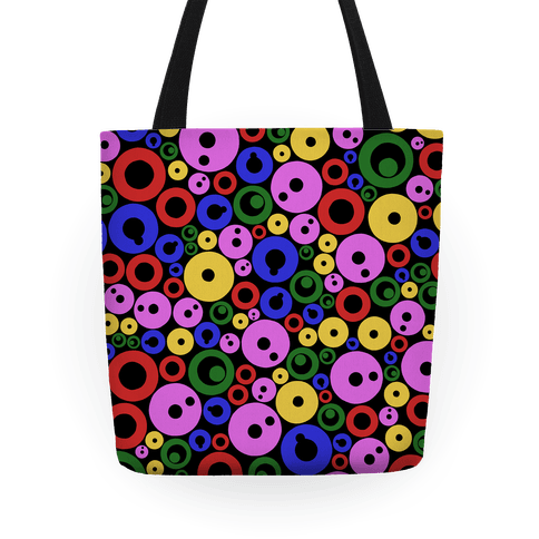 Bloobles Dark Pattern Tote