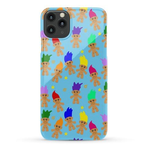 Rainbow Troll Pattern Phone Case