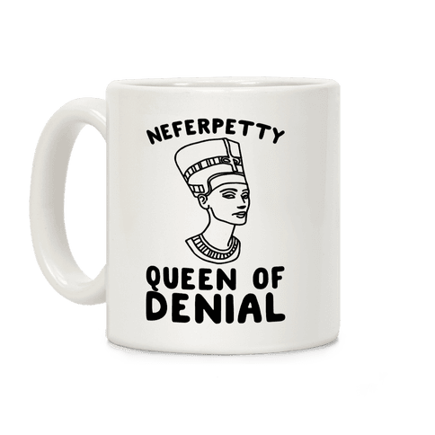 Queen Neferpetty  Coffee Mug