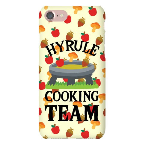 Hyrule Cooking Team Phone Case
