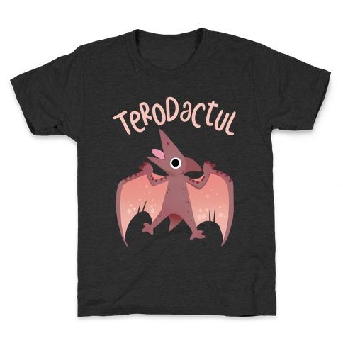 Derpy Animals Terodactul Kids T-Shirt