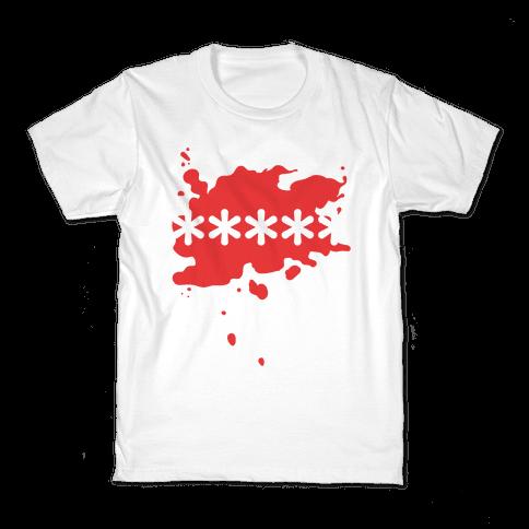 Futaba Red Splatter Kids T-Shirt