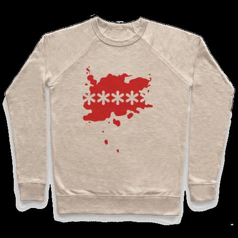 Futaba Red Splatter Pullover