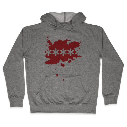 Futaba Red Splatter Hooded Sweatshirt